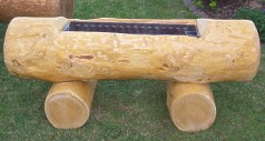 rustikale gartenmöbel - vieles aus holz - holzgebrauchsgegenstände, Gartenmöbel